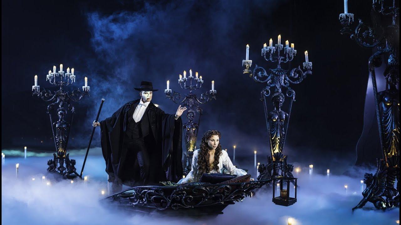 Das Phantom Der Oper Szenen Aus Dem Musical Youtube