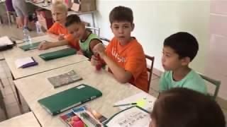 Уроки английского в лагере English 24/7 (2018)