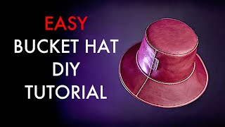Bucket Hat DIY - Pattern Download and Tutorial