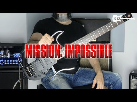 Mission Impossible Theme - Electric Guitar Cover By Kfir Ochaion - ALP Guitars