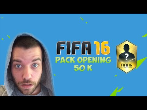 FIFA16 - 89+ PLAYER 50k PACK OPENING