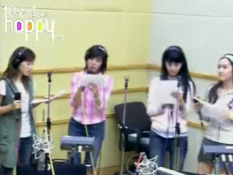 SNSD - Find the way (Bada ver.) FM Inkigayo Sep10.2007 GIRLS' GENERATION Live