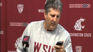 Mike Leach Watches Popcorn Guy