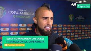 Arturo Vidal habló de la DERROTA de Chile ante PERÚ por Copa América 2019