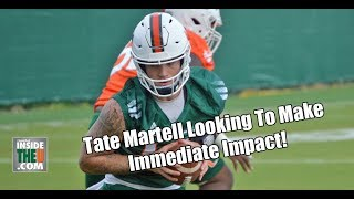 QB Tate Martell Full Highlights From First Practice