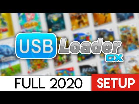 Ultimate USB Loader GX Setup 2020 (Play ISO Backups)