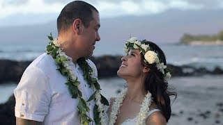 Big Island Wedding Film of a Couple with a Deeply Rooted and Contagious Kind of Love