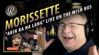 "Cover images Morissette Amon Reaction | ""Akin Ka Na Lang"" LIVE on the Wish 107.5 Bus"