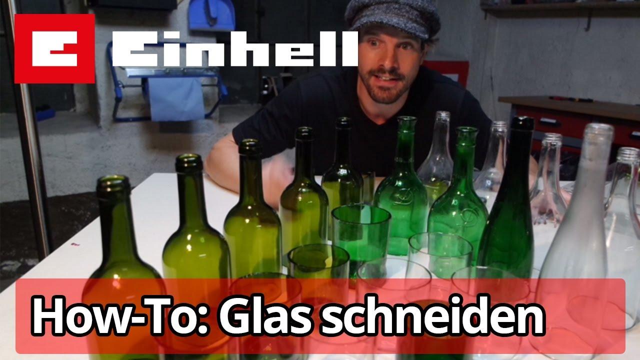 glas schneiden & bearbeiten - youtube