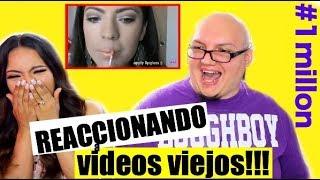 REACCIONANDO A NUESTROS PRIMEROS VIDEOS! CELEBRANDO 1 MILLON! ♥BeautybyNena thumbnail