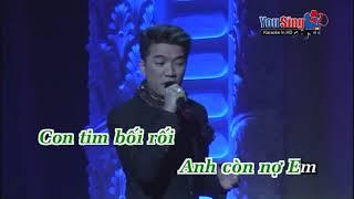 Anh Con No Em Dam Vinh Hung Karaoke