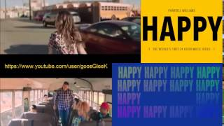 Pharrell Williams - Happy (Miranda Cosgrove / Steve Carell) Solo ver.