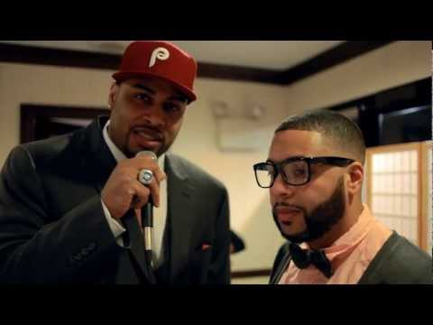 DJ Cadillac Jack interviews Raheem Brock at Celebrity Fashion Show