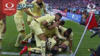 Gol de Nicolás Castillo | Chivas 0 - 1 América | Clausura 2019 - Jornada 11 | Televisa Deportes