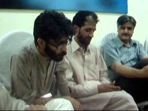Zeshan Haidar, Mushaira Sukhanwar Pakistan, July 04, 2012