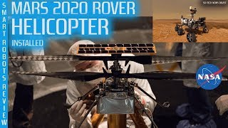 NASA Mars Helicopter Installed on 2020 Rover - NASA Name 2020 Rover Contest - Smart Robots Review