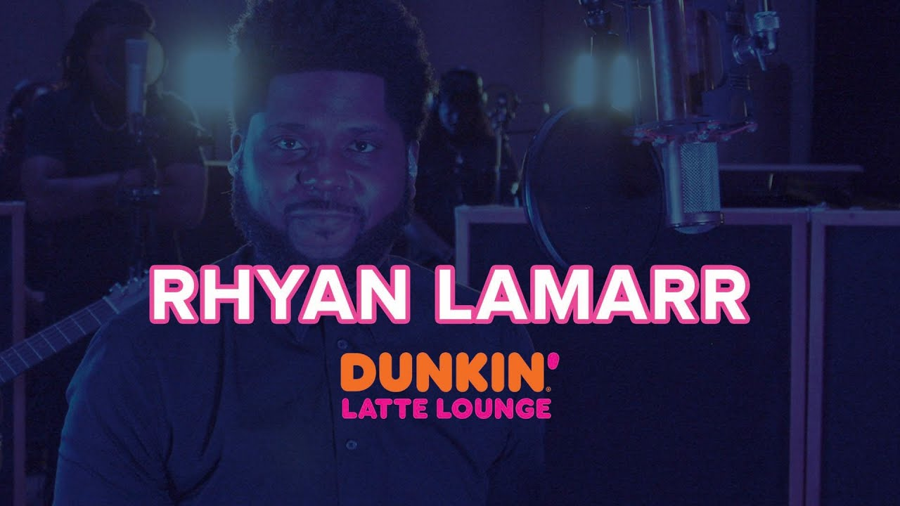 Rhyan LaMarr Performs At The Dunkin Latte Lounge