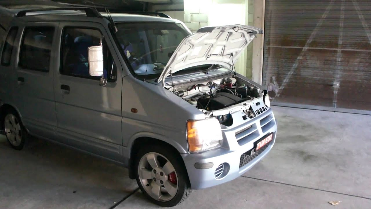 Suzuki Wagon r, MA61, K10A, engine,  YouTube