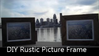 Making a Rustic Barnwood Picture Frame Big City meets the Country