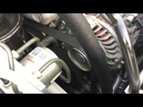 Honda Civic Serpentine Belt Replacement DIY