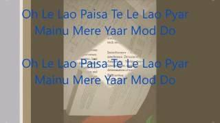 Yaar Mod Do with lyrics