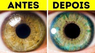 7 Coisas Que Podem Mudar A Cor Dos Seus Olhos