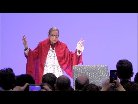 U.S. Supreme Court Justice Ruth Bader Ginsburg in Conversation with President Biddy Martin