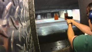 Cool laser guy fails at shooting range - Big Fail
