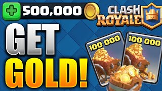 How To Get GOLD FAST & EASY! (Clash Royale Gold Tutorial) Best Method To Gain Gold!