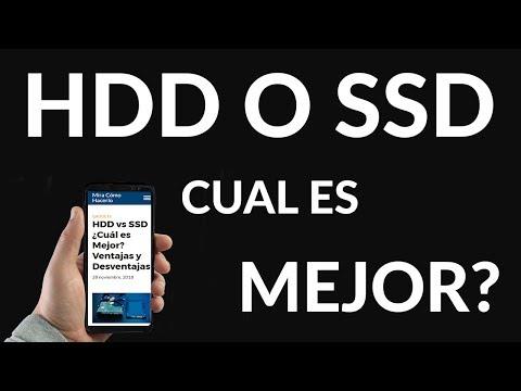 HDD vs SSD ¿Cuál es Mejor? Ventajas y Desventajas