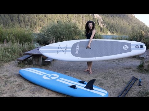 Inflatable SUP Review: 11' White iRocker Paddle Board