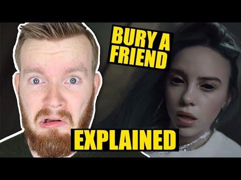 """bury A Friend"" By Billie Eilish Deeper Meaning | Lyrics & Music Video Explained"