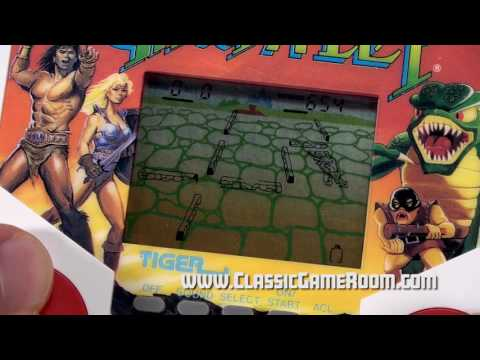 Classic Game Room - TIGER ELECTRONICS GAUNTLET review