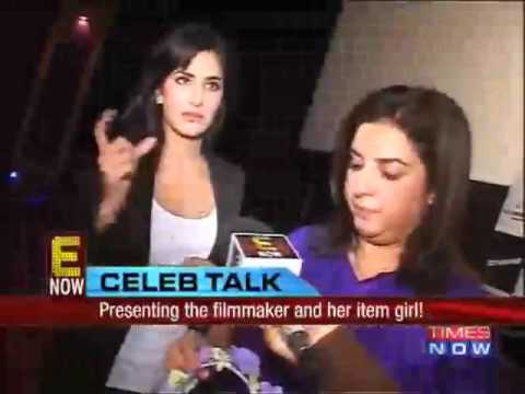 Katrina Kaif and Farah Khan interview