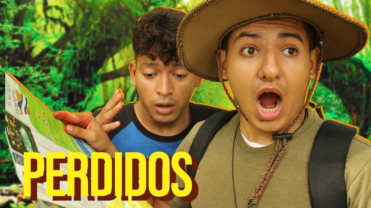NOS PERDIMOS EN LA SELVA 😱😱 ¡Fatal! 😱 videos graciosos youtubers