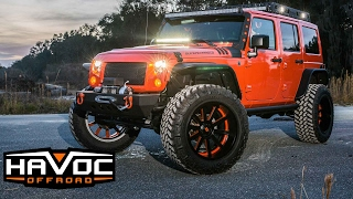 """""""Project Crush"""" Sprintex Supercharged Jeep JK Build on 37"""" Tires at HavocOffroad.com"""