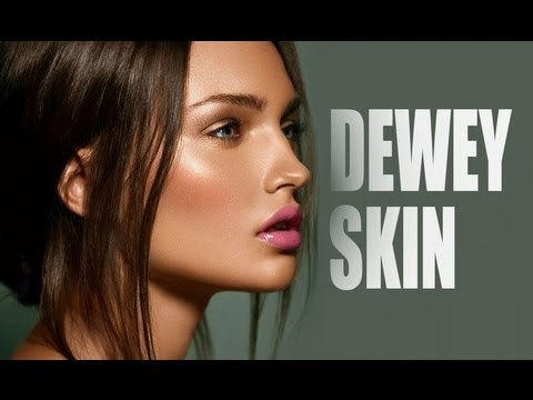 quick makeup tip dewy skin easy  youtube