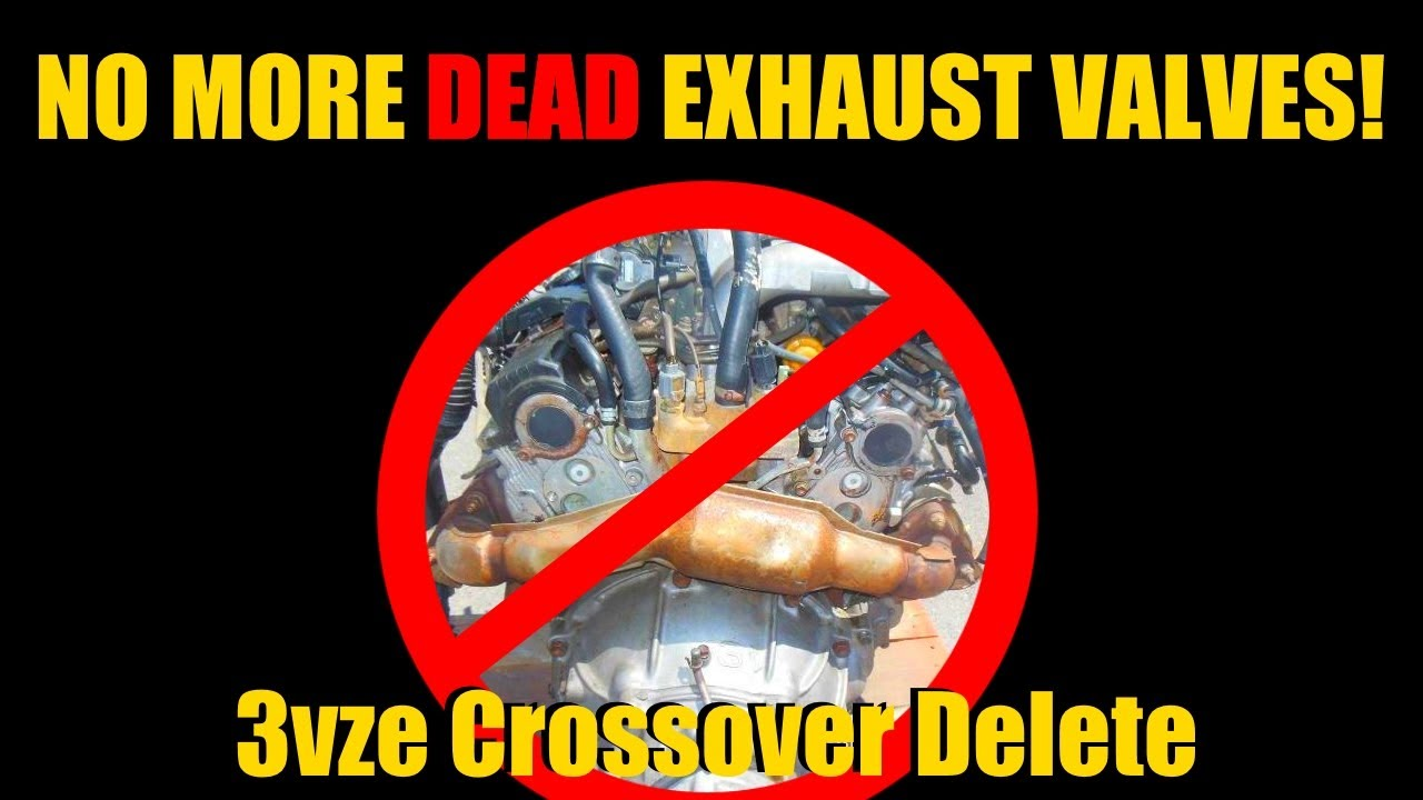 The $40 3VZE Exhaust Crossover Delete On The Toyota 4Runner | 3VZ Mods | NW  Ep  29