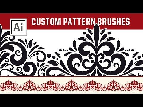Custom Pattern Brushes - Design Your Own Brushes In Adobe Illustrator