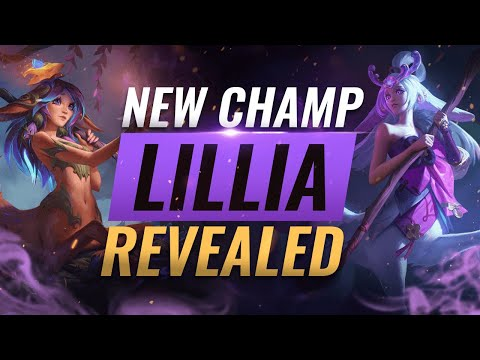 NEW CHAMPION LILLIA: ALL ABILITIES REVEALED - League of Legends