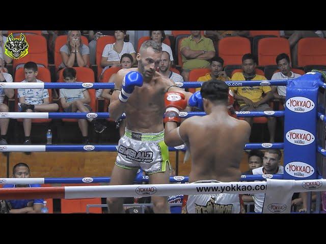 Francois Emerald Muay Thai gym vs Santichai Sor Sakchai