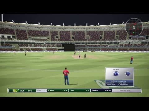 Ashes Cricket - my 1st game. T10 England v Australia