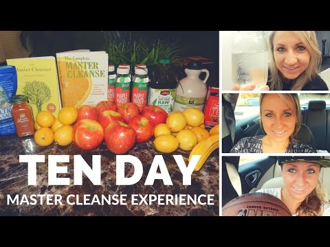 10 DAY Master Cleanse Experience & 28 Day Raw Vegan Diet Complete!