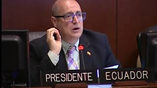 Regular Meeting of the Inter-American Council for Integral Development, August 22, 2017. thumbnail