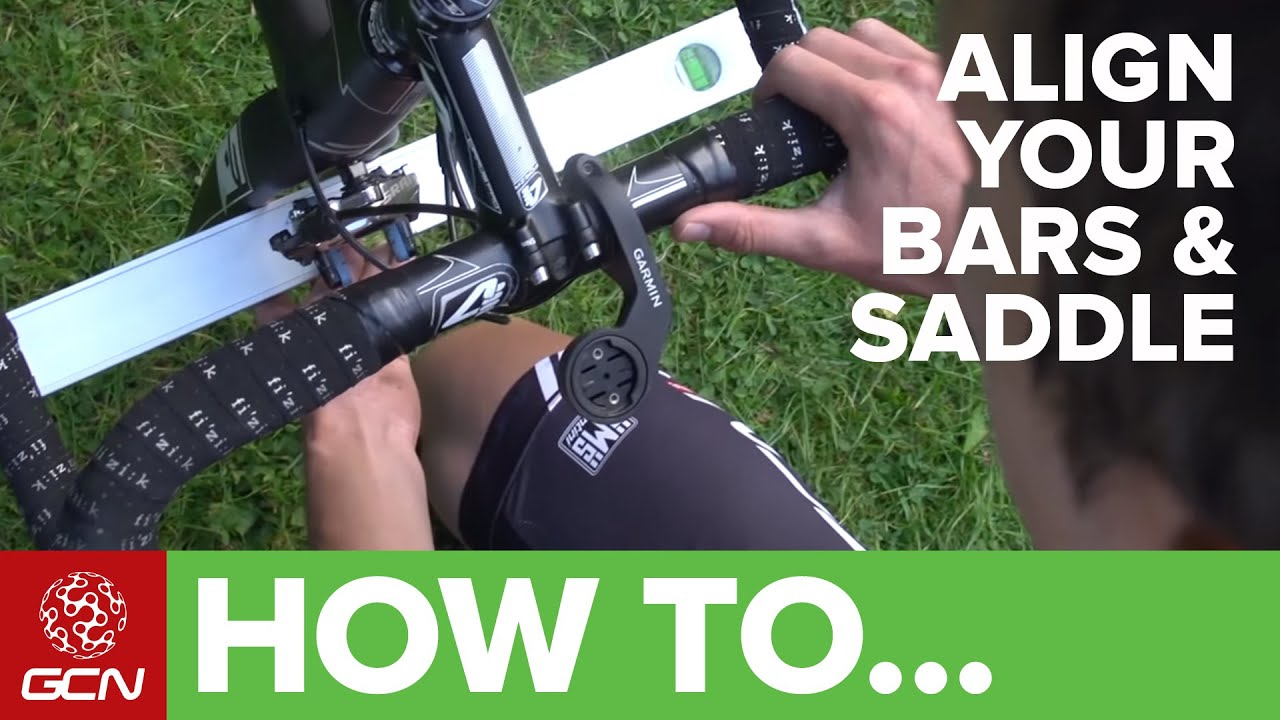 How To Align Your Saddle & Handlebars | GCN's Pro Tips