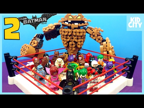 The LEGO Batman Movie Shake Rumble Game #2 with Lego Batman Blind Bag MiniFigures by KidCity