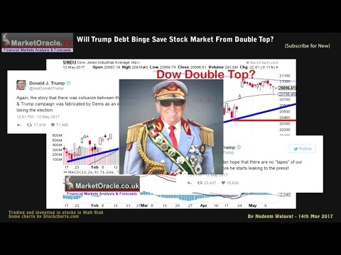 WIll Trump Tax Cuts Debt Binge Save Stock Market From Double Top Bear Plunge?