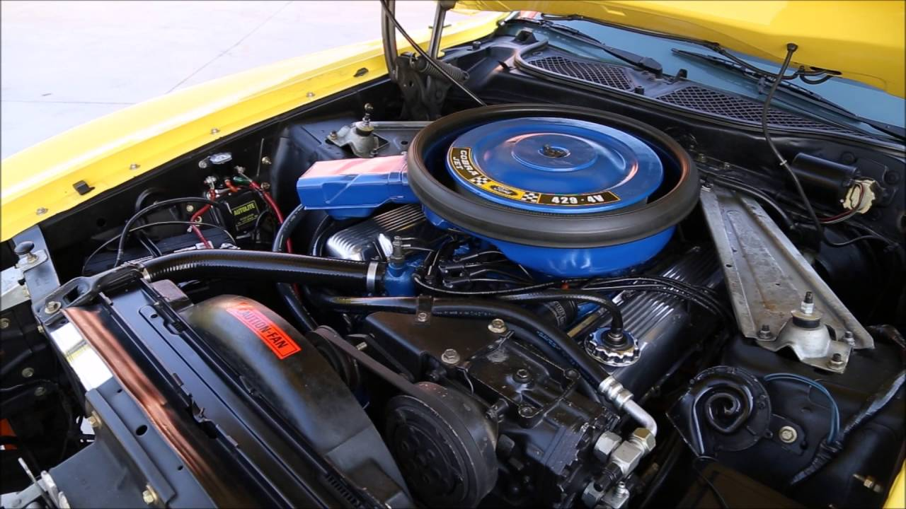 1971 Ford Mustang 429 Cobra Jet  YouTube