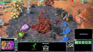 Starcraft 2 - 4v4 Auswar - part 3/3