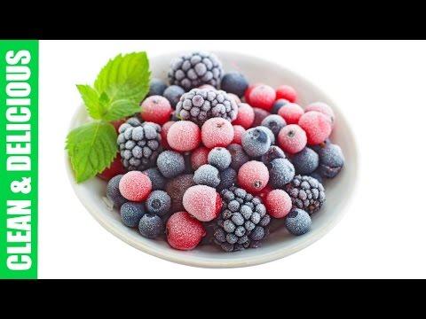 Frozen Berries 3- Easy Ways! | Clean & Delicious
